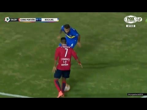 Cecilio Domínguez vs Boca Juniors (Home) - Copa Libertadores 2016