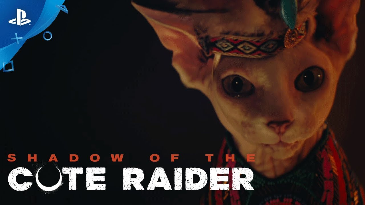 Tomb Raider - Official Cute Version | PS4