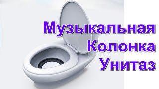 Музыкальная Колонка Унитаз