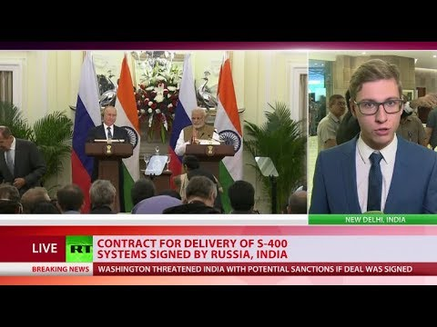 Contract signed: Russia to supply India with S-400 systems