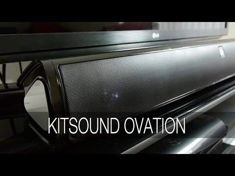 KitSound Ovation Soundbar TV Speaker Review