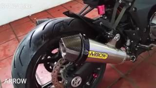 10 Best Exhaust Sound  Z1000 Sugomi | Akrapovic | Sc Project | Yoshimura | Two Brothers | Scorpion