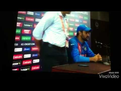 M.S.Dhoni Tamil dub Press Meet