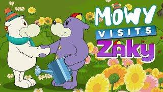 Mowy Visits Zaky - Muslim Cartoons For Kids