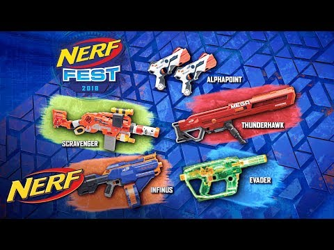 'NERF Fest 2018' Official Commercial