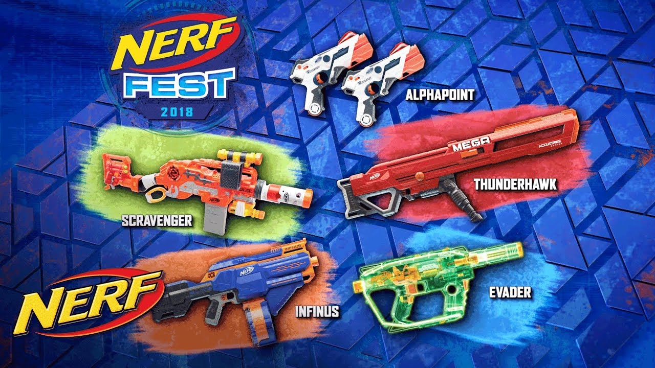 NERF Fest 2018 Official Commercial YouTube