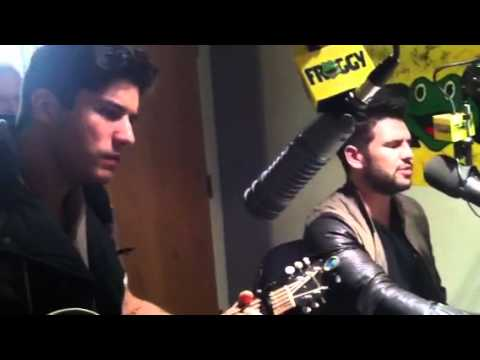 """Dan + Shay covers Rascal Flatts song, """"these days"""""""