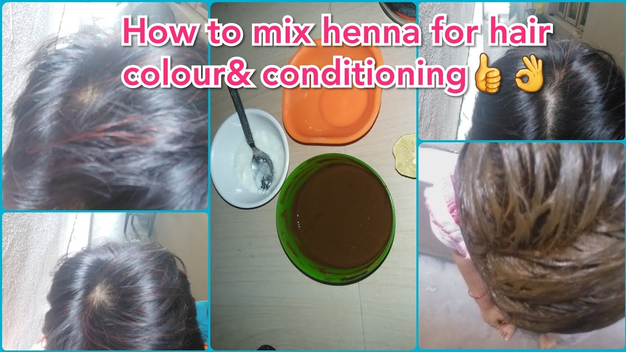 How to mix henna for hair growth&hair conditioning|hair ...