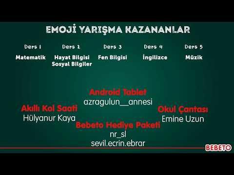 BEBETO EMOJİ YARIŞMASI KAZANANLAR