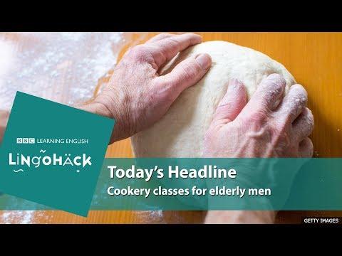 Cookery classes for elderly men - Lingohack