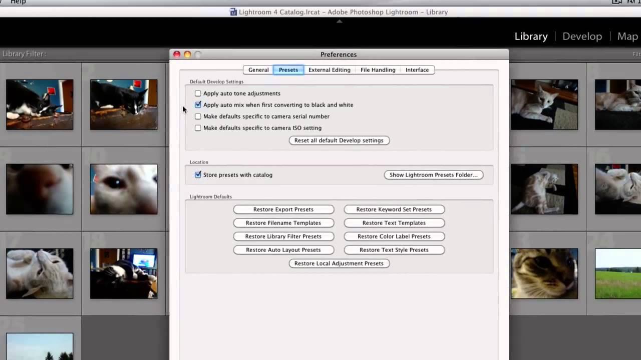 lightroom how to delete downloaded presets