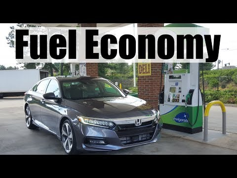 2019 Honda Accord 2.0T - Fuel Economy MPG Review + Fill Up Costs
