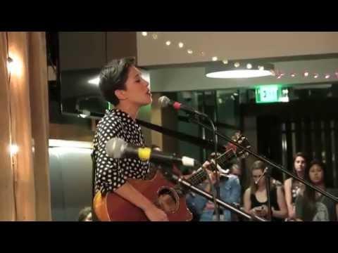 Kina Grannis   Chapman University   Acoustic set   April 17th 2015