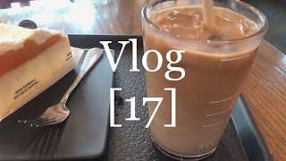 Vlog 나의나날들 17  제주감귤치즈케이크와 돌체라떼…