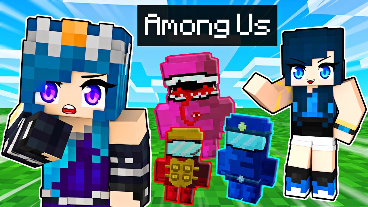Among Us Hide and Seek in Minecraft!