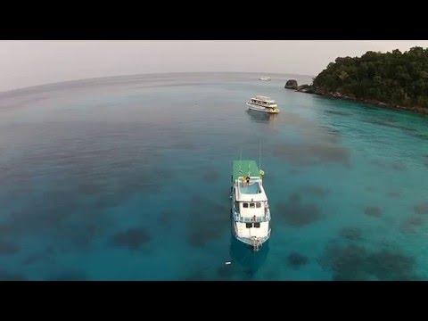 Thailand Drone View - Similan Islands Thailand
