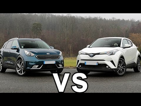 comparatif toyota c hr vs kia niro 2017 hd design prix moteurs autoreduc tv youtube. Black Bedroom Furniture Sets. Home Design Ideas