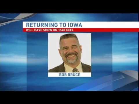 Bob Bruce Returning to E. Iowa Radio