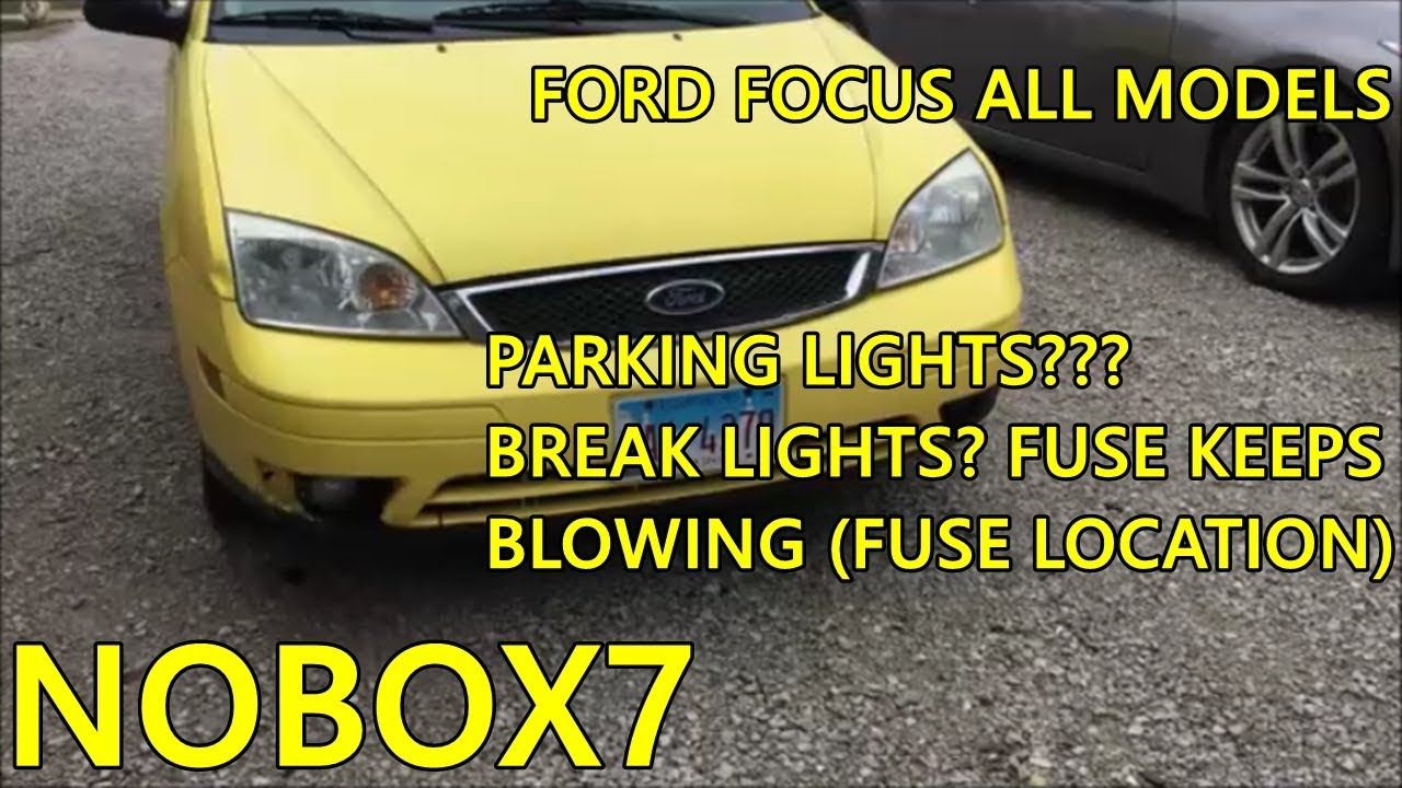 ford focus tail light fuse blowing fix and location year 2000 models [ 1280 x 720 Pixel ]