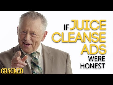 If Juice Cleanse Ads Were Honest (Detox, Master Cleanse)