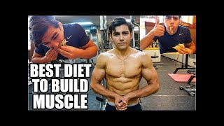 FULL DAY OF EATING - My Diet To Build Lean Muscle Mass