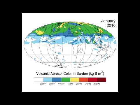 Volcanoes' Impact on the Atmosphere - NCAR Whole Atmosphere Community Climate Model