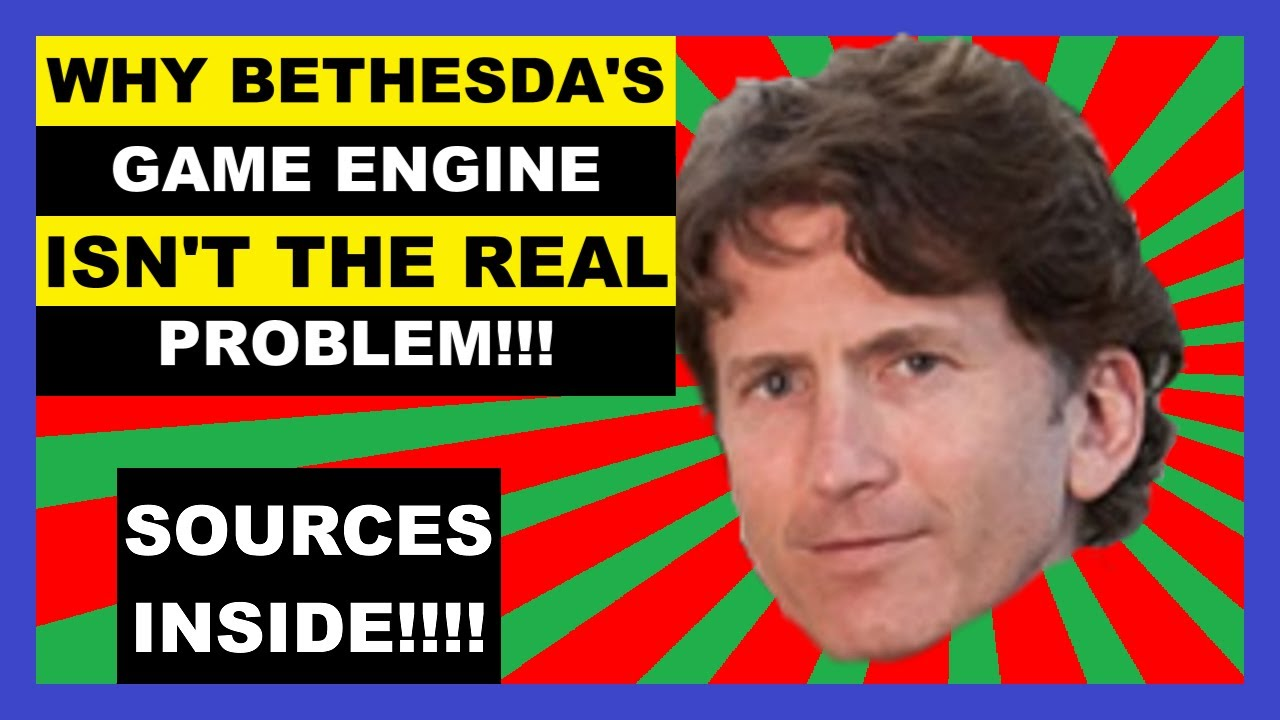 Download Bethesda's Game Engine Isn't the Problem, and I can Prove It!