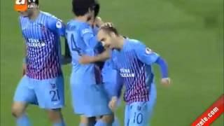 Trabzonspor 6-0 Sivasspor Geniş Özet | Ziraat Türkiye Kupasında Trabzon Finalde [08.05.2013]
