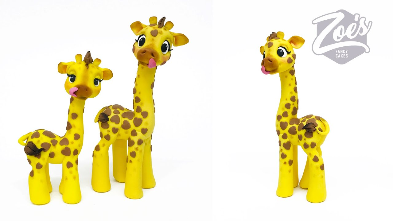 Giraffe cake topper Facebook Live stream - YouTube