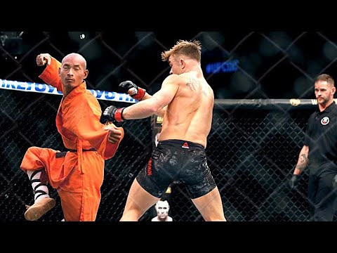 Download Kung Fu Monk vs UFC Fighters | Kung Fu vs MMA