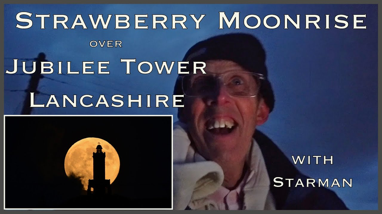 Strawberry Moonrise Jubilee Tower