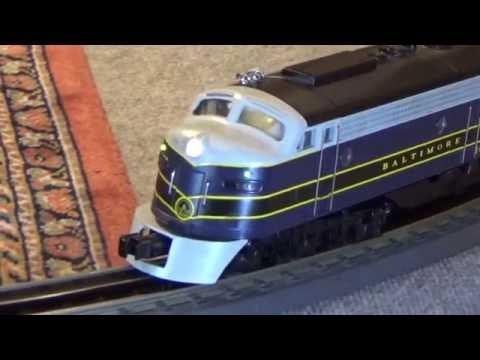 MTH Premier B&O EMD E-8 A-B-A Diesel Set Proto-Sound 32 O Gauge 3 Rail