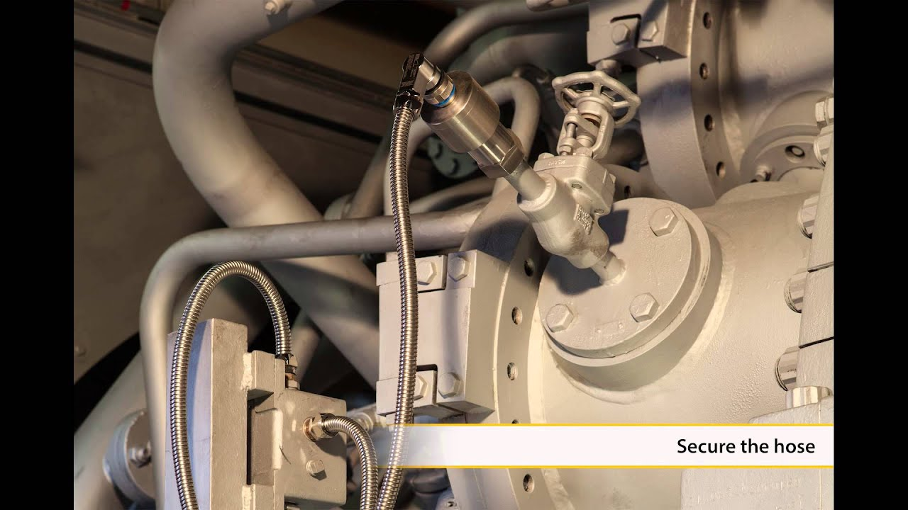 Cable Protection for Flame Scanner on Gas Turbines
