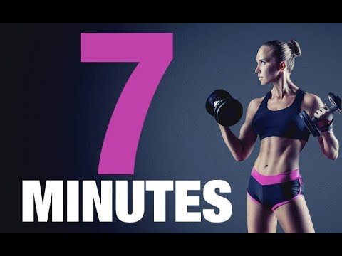 7 Minute WEIGHTED ABS Workout for Women (MORE DEFINITION!!)