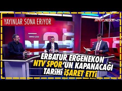 Erbatur Ergenekon NTV Spor'un Kapanacağı Tarihi Işaret Etti