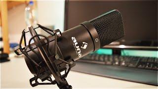 AUNA MIC-900B - Unboxing & Soundtest