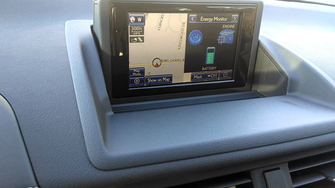 Lexus Ct 200h Wiring Diagram Diagrams 2013 Ct200h Multi Mode Hybrid Display Youtube Colors