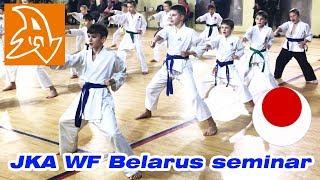 Семинар по каратэ JKA/WF Belarus. Karate seminar JKA