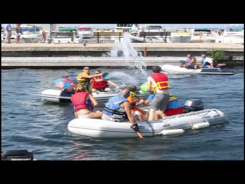 Port Elgin Dinghy Poker Run And Water Fight - Labour Day Weekend 2015