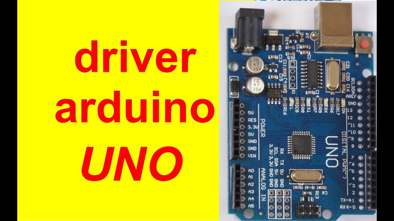 driver Arduino uno Ch340 + how to install ?