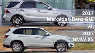 2017 mercedes-benz gle vs 2017 bmw x5 (technical comparison)