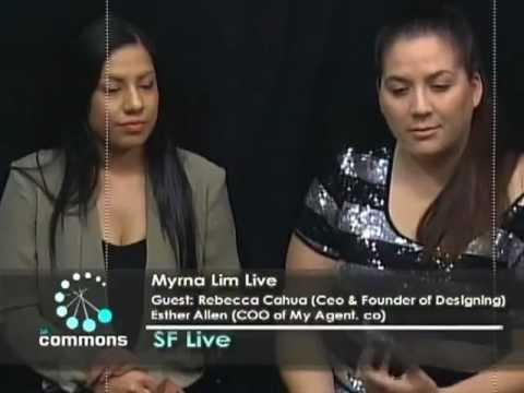 Myrna Lim interviews Fashion Designers Rebecca Cahua and Esther Allen.mp4