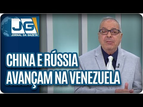 João Batista Natali/China e Rússia avançam na Venezuela