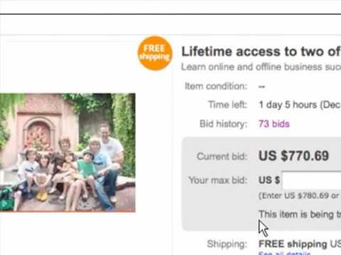 Don't believe me...believe 80 bidders on eBay! MySilentTeam.com / OfflineBiz.com auction