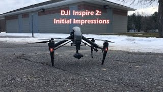 DJI Inspire 2 First Impressions After Repair