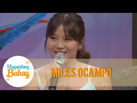 Magandang Buhay: Miles Ocampo talks about her relationship with Amy Austria