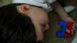 Adorable snoring! Toddler has sleep apnea; his other symptoms mimic autism or ADHD.