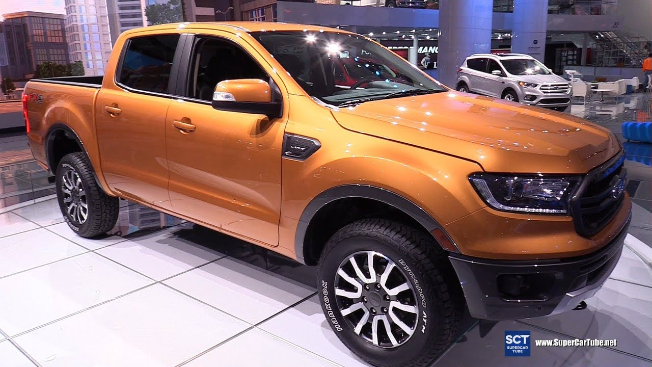 2019 Ford Ranger Exterior And Interior Walkaround Debut At 2018 Detroit Auto Show