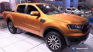 2019 Ford Ranger - Exterior and Interior Walkaround - Debut at 2018 Detroit Auto Show