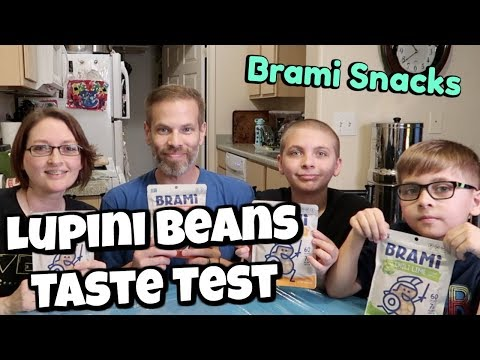 Brami Snacks Taste Test | Lupini Beans